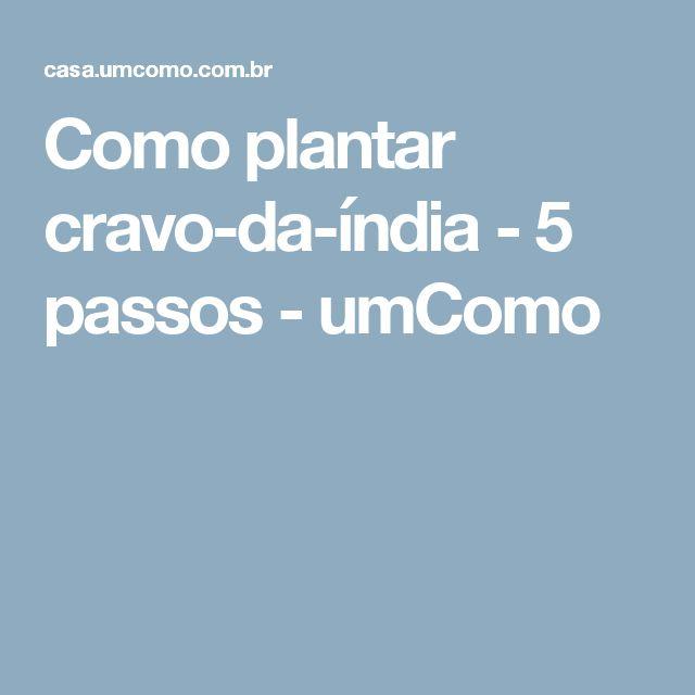 Como plantar cravo-da-índia - 5 passos - umComo