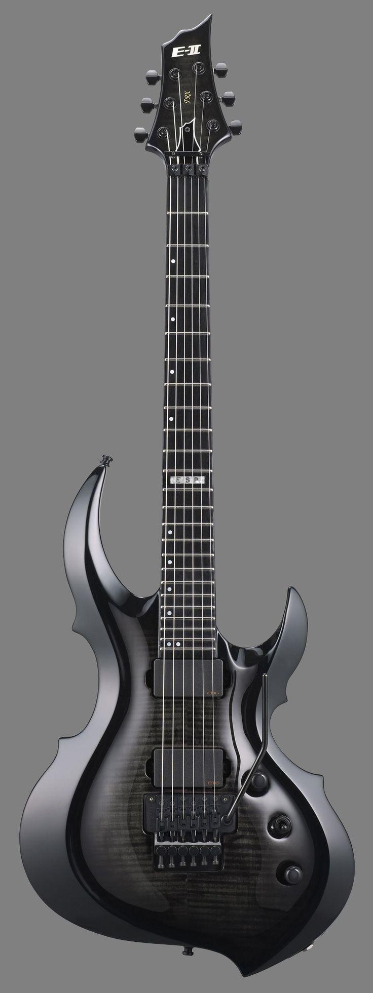 esp e ii frx fm forest guitar see thru black burst guitar 39 s and misc instrument 39 s. Black Bedroom Furniture Sets. Home Design Ideas
