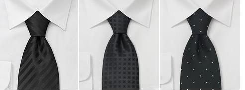 Шаблон черный костюм для похорон