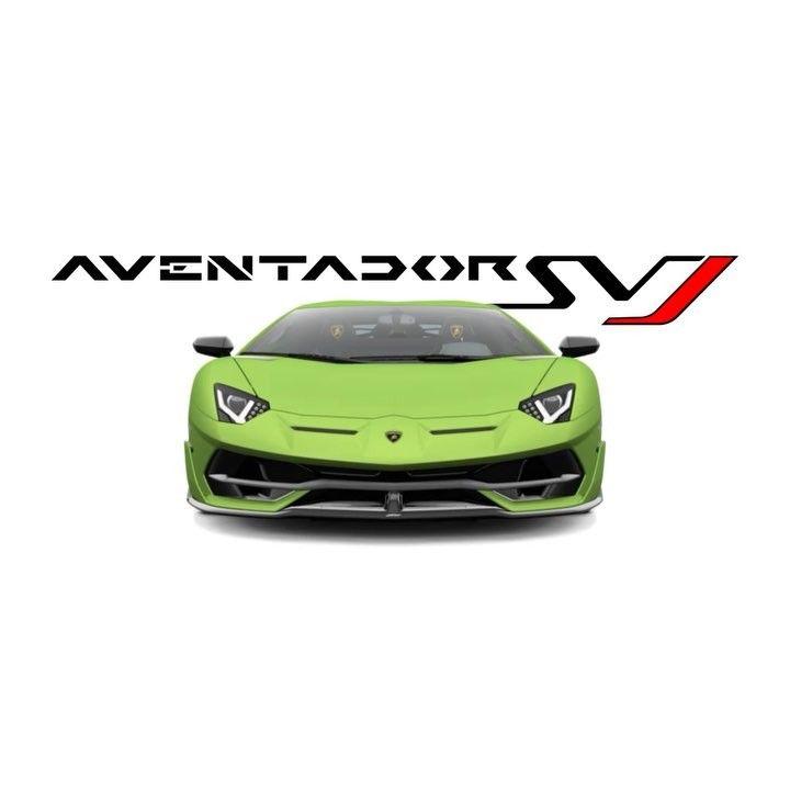 From Lamborghini The Astonishing Design Of Aventador Svj Becomes