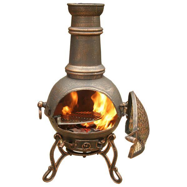 terracotta chiminea fire pit