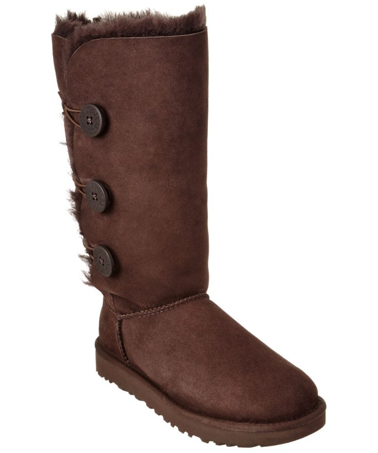 UGG | Ugg Women's Bailey Button Triplet Ii Water-Resistant Twinface Sheepskin Boot #Shoes #Boots & Booties #UGG