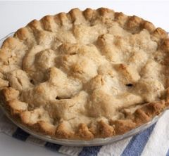 Basic Whole Wheat Double-Crust Pie Dough - I made this tonight for a chicken pot pie and loved it!  Very flaky and delicious! -JP