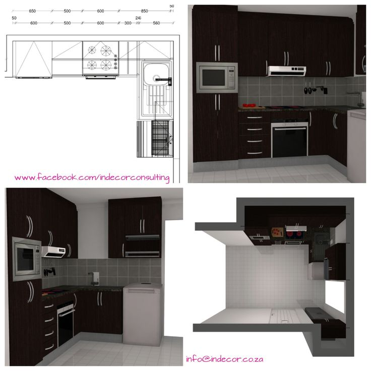 3Ds for extension of kitchen - addition of cupboards