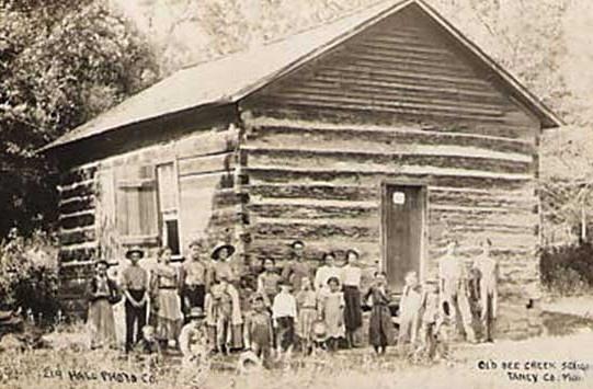 One Room Missouri School House