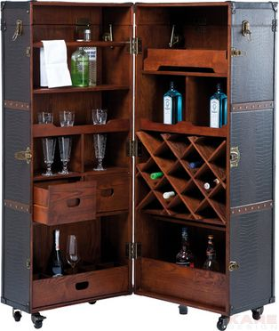 Armoire Bar Colonial