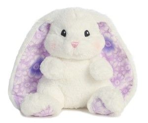 "Easter Basket Girlfriend Lopsie Wopsie Flowers Easter Medium Bunny Rabbit Plush Aurora Stuffed Animal Toy White with Purple Ears Lopsie Wopsie 13"" White Bunny With Purple Ears.  http://awsomegadgetsandtoysforgirlsandboys.com/easter-basket-girlfriend/ Easter Basket Girlfriend Lopsie Wopsie Flowers Easter Medium Bunny Rabbit Plush Aurora Stuffed Animal Toy White with Purple Ears"