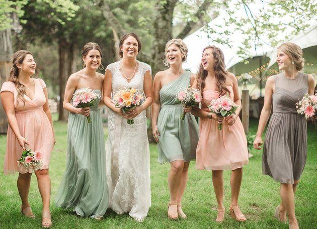 Best 25  Bridal party dresses ideas on Pinterest | Funny ...