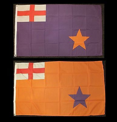 #Orange #order flag ulster #protestant 1912 loyalist unionist purple ww1 uvf para, View more on the LINK: http://www.zeppy.io/product/gb/2/201580005697/