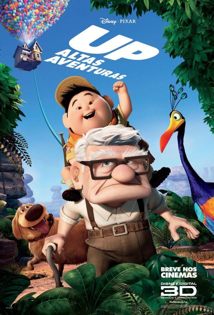 Up é um filme norte-americano do gênero animação sendo o 10ª longa-metragem de animação produzida pelos estúdios Pixar lançada nos Estados Unidos em 29 de Maio de 2009.