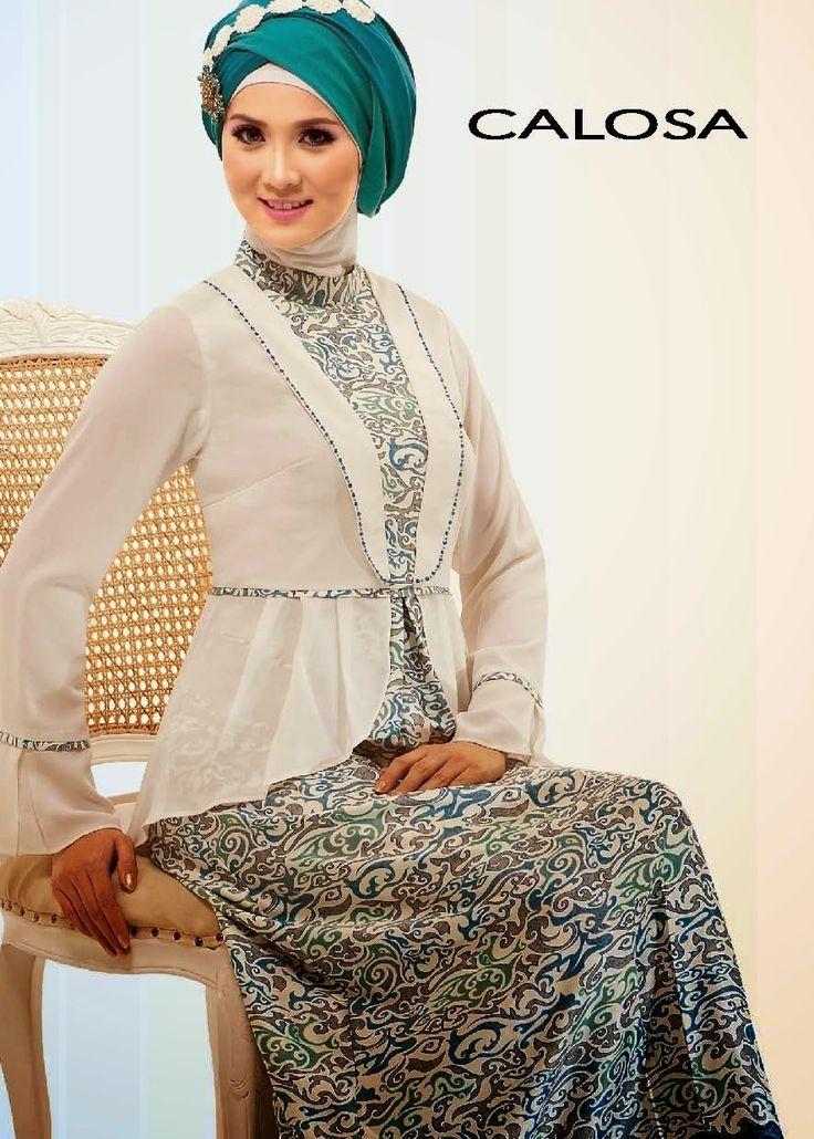 Grosir Gamis Muslim | Busana Gamis Muslim | Gamis Muslim Online: BUSANA CALOSA TERBARU