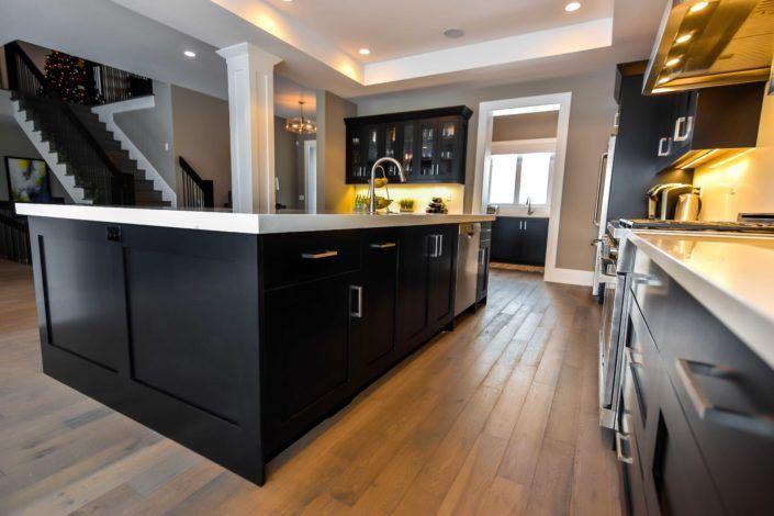 Custom Black Cabinets In Edmonton Custom Kitchen Cabinets Custom Cabinets Cabinet