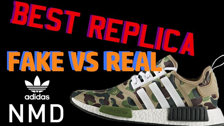 Best NMD BAPE CAMO Replica - Comparison Review FAKE Vs Real ! - Perfectk...