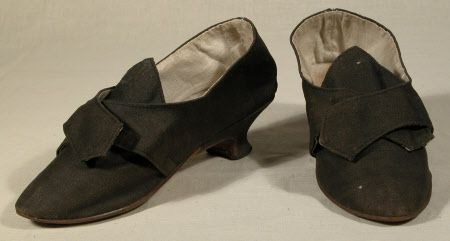 Shoe  National Trust Inventory Number 1348800.1 CategoryLeatherwork Date1770 - 1780