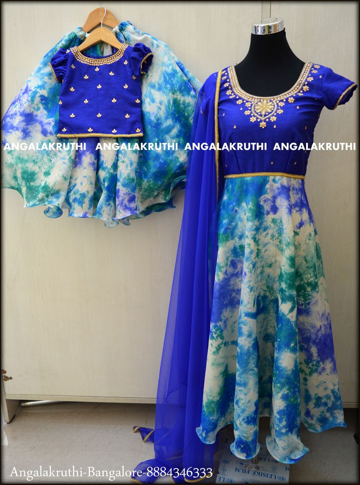 Mom n Me designs-Angalakruthi-Ladies Boutique in Bangalore #mom and daughter matching dresses watsapp:8884347333 # mom and me designs
