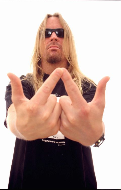 Jeff Hanneman of Slayer. RIP
