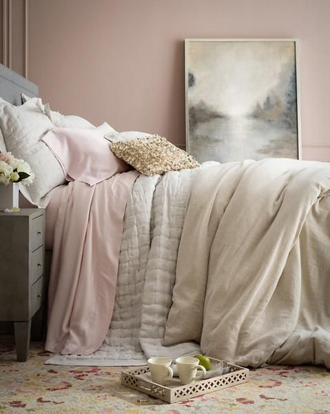 Bedding to make you linger from Pine Cone Hill.