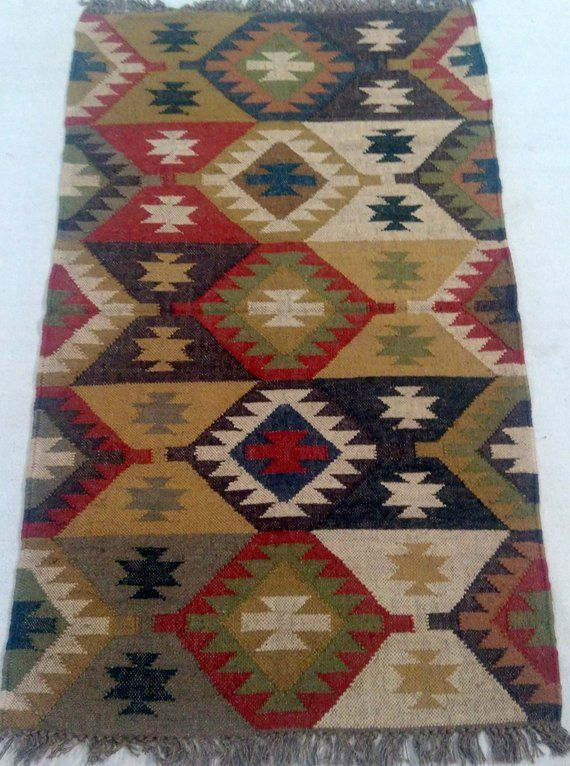 Large Rug Runner 36 By 60 Inches Handmade Christmas Decoration Etsy Carpet Decoration Rugs On Carpet Boho Carpets