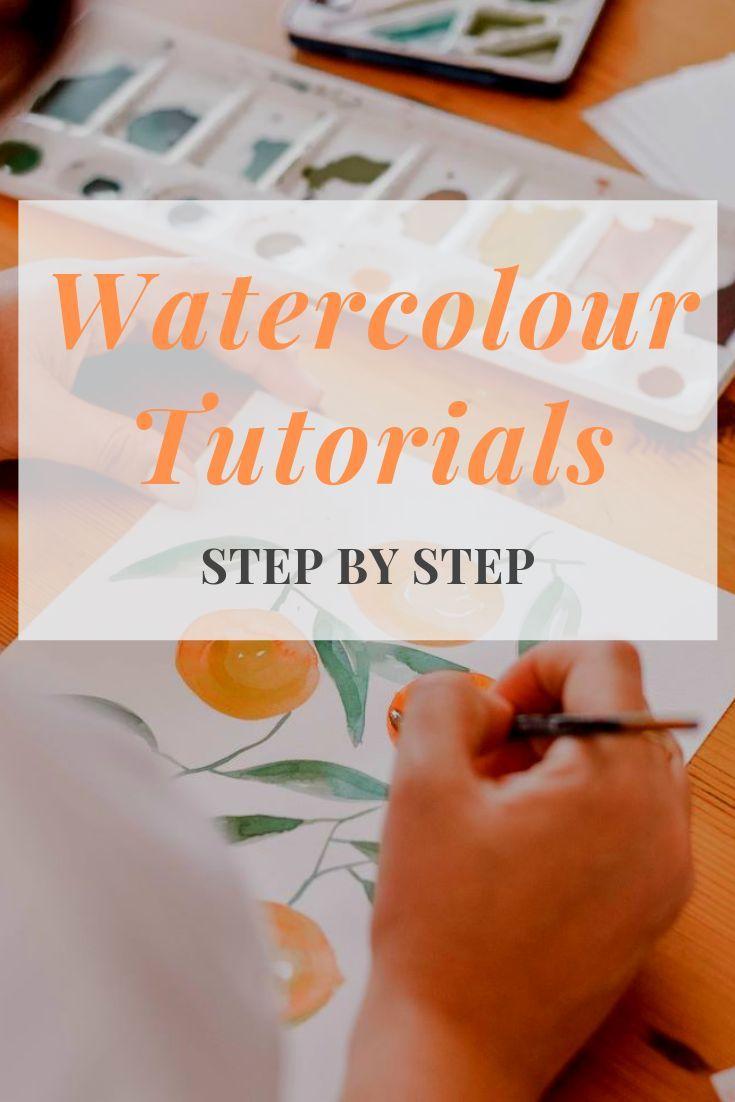 Watercolour Tutorials To Help Beginners Start Painting