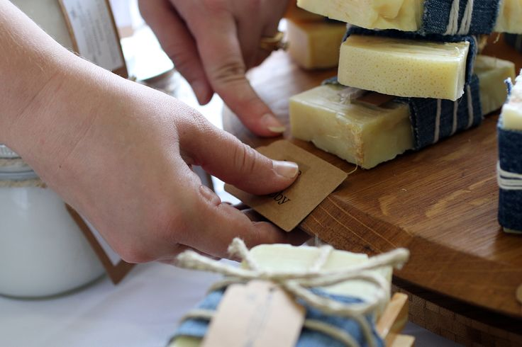 Preparing for a market. Handmade artisan soap by Sparrow Soap, Perth, Western Australia.