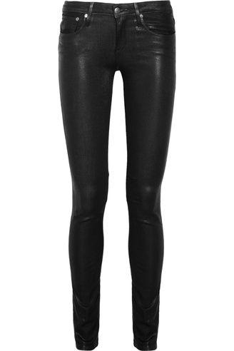HELMUT Mid-rise glossed skinny jeans av Helmut Lang | Jeans | Smala | Apprl - Social Shopping