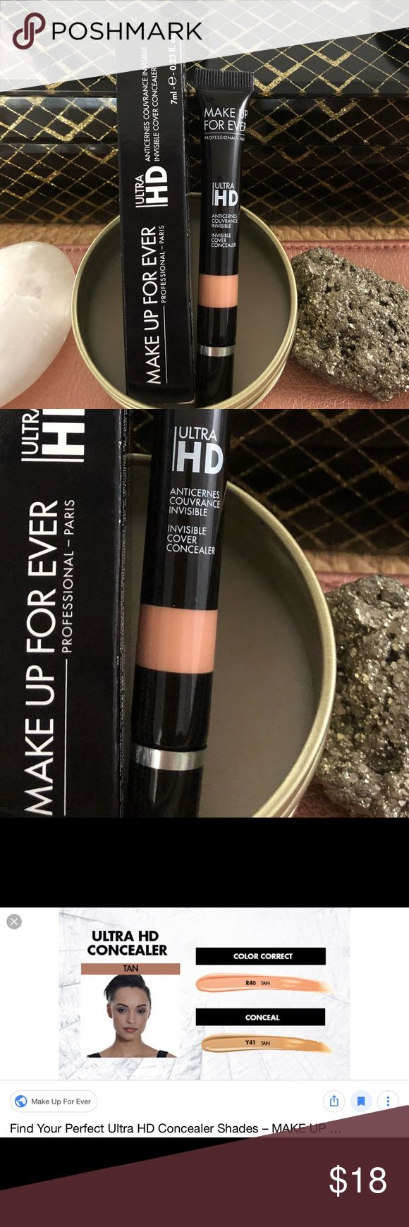 MUFE Ultra HD Invisible Cover Concealer (R40) This Makeup
