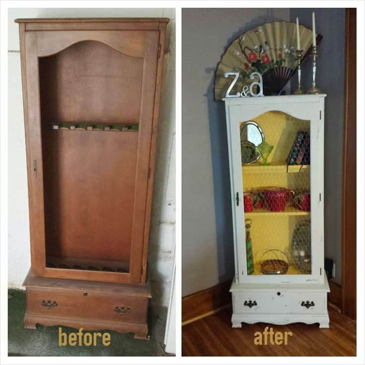 23 best gun cabinet upcycle images on pinterest gun for Bedroom furniture gun safe