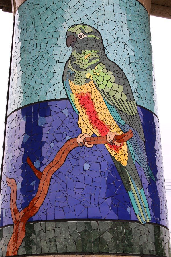 Update from the Mosaic Mecca of South America: Puente Alto & Isidora Paz López | Mosaic Art NOW