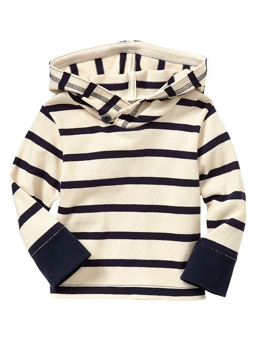 i want this for Aubrey even though its for a baby boy. its soooo cute!  Gap | Striped hoodie