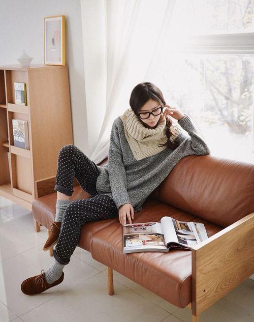 En la tranquilidad del hogar