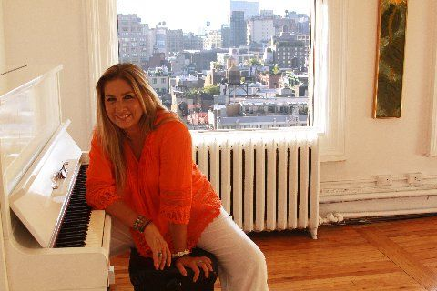 Romina Power in New York City.