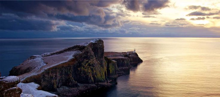 Neist Point Lighthouse on the Isle of Skye  Marcus McAdam http://www.isleofskye.com/about/photography