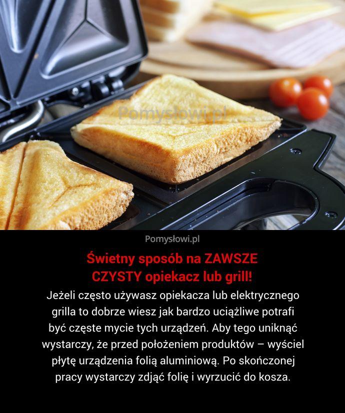 Jeżeli często używasz opiekacza lub elektrycznego grilla to dobrze wiesz jak bardzo uciążliwe potrafi być częste mycie tych urządzeń. Aby ...