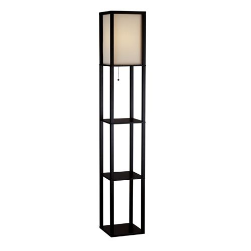 Wright Tall Floor Lamp Square Floor Lamp Floor Lamp With Shelves Tall Floor Lamps