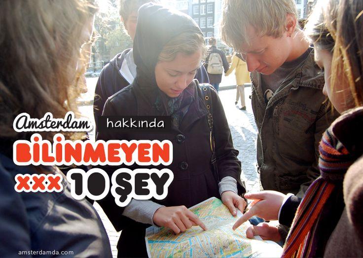 Amsterdam hakkında az bilinen 10 şey! #amsterdam #gezi #tatil #turistolmak #amsterdamgezi #hollanda #avrupa