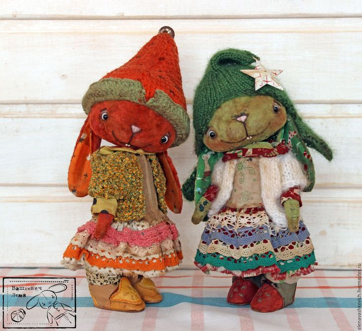 Купить Елка и Морковка ХТ 2016 - комбинированный, морковь, елка, Новый Год, тедди