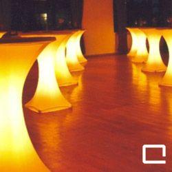 Stehtisch STARLIGHT, Lounge, beleuchtete Möbel, Lichteffekte