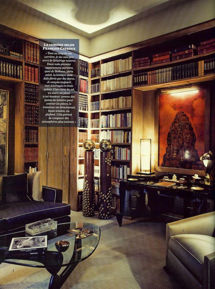 17 best images about francois catroux interiors on for Designer apartment paris