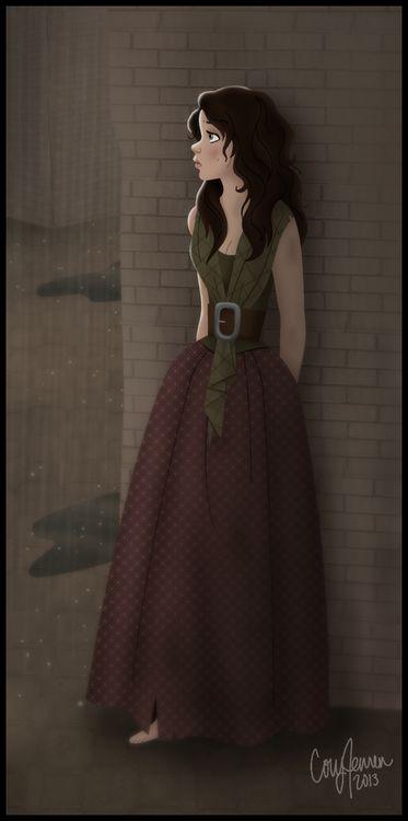 -Elain solia pasear entre la gente con Ian, haciendose pasar por una humana más, con ese disfraz ella se sentia tan segura - Ursa le cuenta a Magnus el pasado de Elain