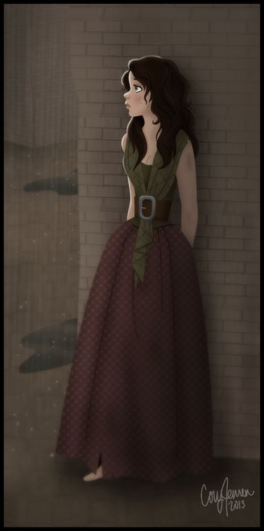 Umm... this needs to happen, eponine after disney.