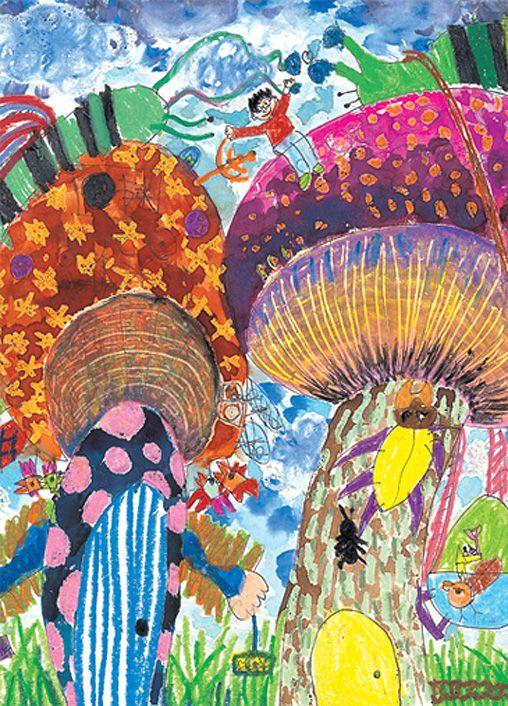 <공모전 수상작> 2013년 제21회 하나·외환 자연사랑 어린이 미술대회 : 네이버 블로그