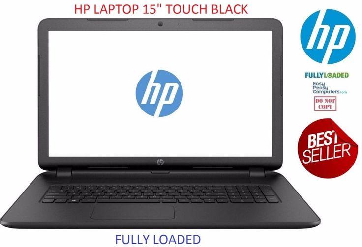 "NEW HP Laptop TouchScreen 15.6"" Windows 10 WiFi Webcam 500GB 4GB (FULLY LOADED) #HP #laptop #laptops #cheaplaptops #laptopsforsale #laptopdeals #notebook #newlaptop #bestlaptop #hplaptop #delllaptop  #laptopsforcollege"