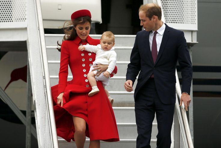 Royal Tour in Pictures: Kate Middleton, Prince William and Baby George Arrive in New Zealand