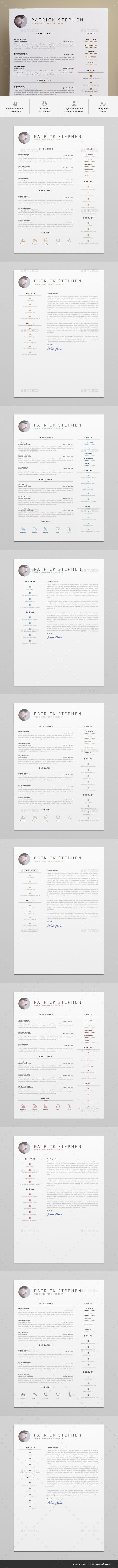 Best Resume  Personal Website Images On   Design