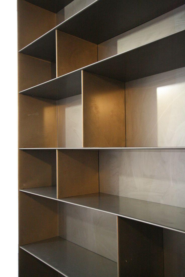 #bookshelf #steel #furniture #design #harrierdesign