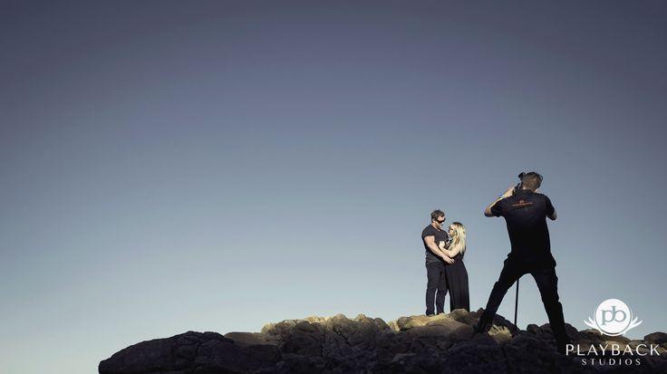 We'll climb rocks to get that perfect shot. #weddingphotos