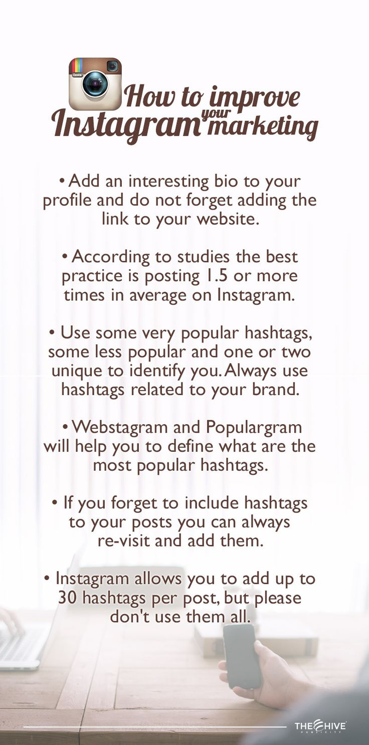 • Post on the right days and time, you won't want to post when your target market is busy or sleeping.  • Set a schedule, don't just post like crazy or post with massive time gaps in between, you have to be consistent.  • Remember this is a social media network, so be social. Reply the comments you get and comment on posts from other users as well.  • Spread the love, the more likes you give the more you'll be likely to get them back (and possibly some followers as well).