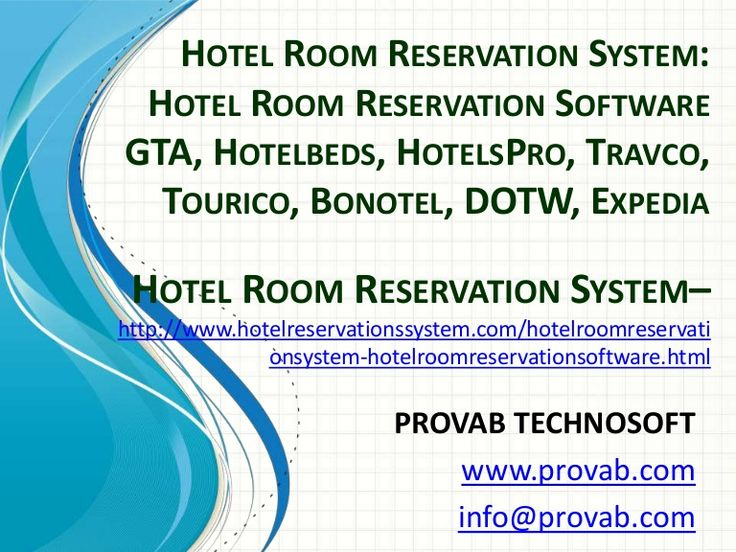 Hotel Room Reservation System, Hotel Room Reservation Software, Room Reservation System