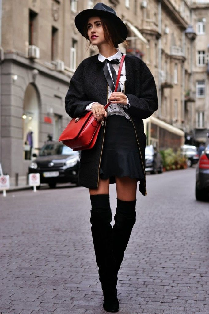 Tina Sizonova / French Connection. //  #Fashion, #FashionBlog, #FashionBlogger, #Ootd, #OutfitOfTheDay, #Style
