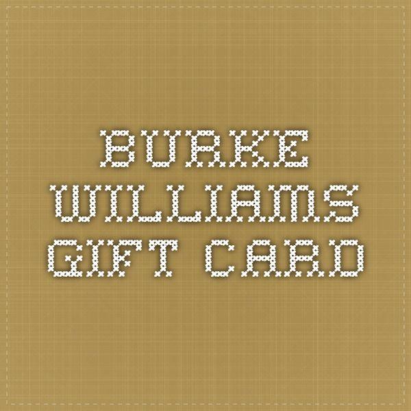Burke Williams Gift Card